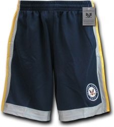 View Buying Options For The RapDom Navy Logo Mens Basketball Shorts