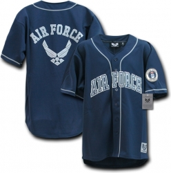 View Buying Options For The RapDom US Air Force Logo Mens Baseball Jersey