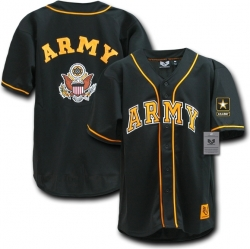 View Buying Options For The RapDom US Army Logo Mens Baseball Jersey