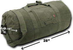 View Buying Options For The RapDom G.I. Style Side Zip Duffle Bag