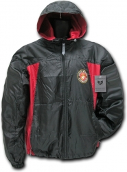 View Buying Options For The RapDom Marines 2 Tone Zip-Up Hooded Mens Windbreaker Jacket