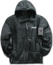 View Buying Options For The RapDom Police Solid Zip-Up Hooded Mens Windbreaker Jacket