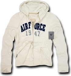 View Buying Options For The RapDom Air Force Deluxe Mens Zip-Up Hoodie Jacket