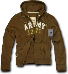View Buying Options For The RapDom Army Deluxe Zip-Up Mens Hoodie Jacket