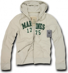 View Buying Options For The RapDom Marines Deluxe Zip-Up Mens Hoodie Jacket