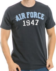 View Buying Options For The Air Force Long Beach Applique Mens Tee