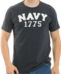 View Buying Options For The RapDom Navy Long Beach Applique Mens Tee