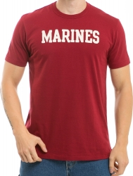 View Buying Options For The RapDom Marines Oceanside Applique Mens Tee