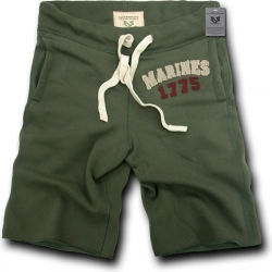 View Buying Options For The RapDom Marines Normandy Mens Fleece Shorts