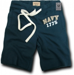 View Buying Options For The RapDom Navy Normandy Mens Fleece Shorts