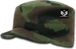 View Buying Options For The RapDom Camouflage Flat Top Visor Billed Jeep Beanie Cap