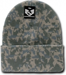 View Buying Options For The RapDom Camouflage Cuff Beanie Cap