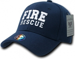 View Buying Options For The RapDom Fire Rescue FitAll Flex Mens Cap