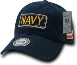 View Buying Options For The RapDom Navy Dual Flag Raid Unstructured Mens Cap