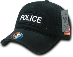 View Buying Options For The RapDom Police Dual Flag Raid Unstructured Mens Cap