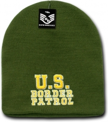 View Buying Options For The RapDom U.S. Border Patrol Military/Law Work Short Beanie Cap