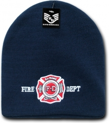 View Buying Options For The RapDom Fire Dept. Public Safety Short Knit Beanie Cap
