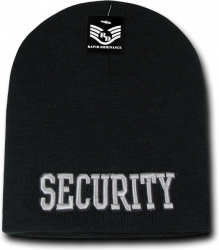 View Buying Options For The RapDom Security Public Safety Mens Short Knit Beanie Cap