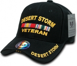 View Buying Options For The Desert Storm Veteran Deluxe Milit. Mens Cap
