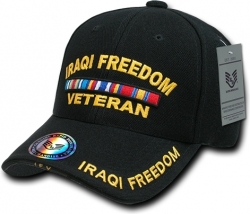 View Buying Options For The RapDom Iraqi Freedom Veteran Deluxe Milit. Mens Cap