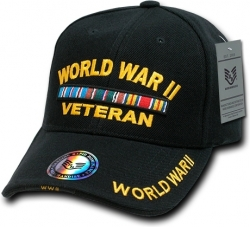View Buying Options For The RapDom World War II Veteran Ribbons Deluxe Mens Cap