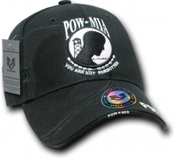 View Buying Options For The RapDom POW MIA Logo Embroidered Shadow Mens Cap