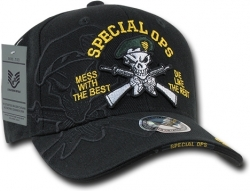 View Buying Options For The RapDom Special Ops Green Berets Shadow Mens Cap