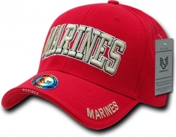 View Buying Options For The RapDom Marine Text The Legend Mens Cap