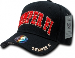 View Buying Options For The RapDom Marine Semper Fi Text The Legend Mens Cap