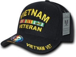 View Buying Options For The RapDom Vietnam Veteran Ribbons Emblem The Legend Mens Cap