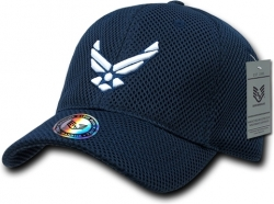 View Buying Options For The RapDom Air Force Hap Wings Military Mens Air Mesh Cap