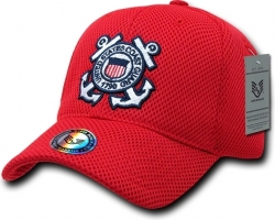 View Buying Options For The RapDom United States Coast Guard Military Mens Air Mesh Cap