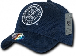 View Buying Options For The RapDom United States Navy Round Military Mens Air Mesh Cap