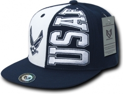 View Buying Options For The RapDom Air Force Stack Up Mens Snapback Cap