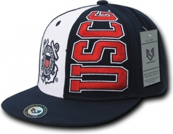 View Buying Options For The RapDom Coast Guard USCG 2-Tone Stack Up Mens Snapback Cap