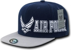 View Buying Options For The RapDom Air Force 2-Tone D-Day Military Mens Snapback Cap