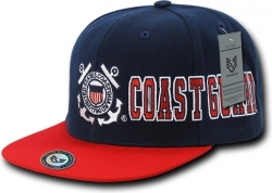 View Buying Options For The RapDom Coast Guard D-Day Military Mens Snapback Cap