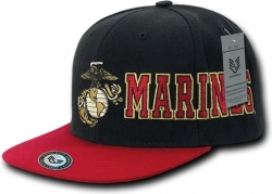 View Buying Options For The RapDom Marines D-Day Military Mens Snapback Cap