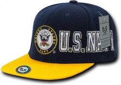 View Buying Options For The RapDom Navy D-Day Military Mens Snapback Cap