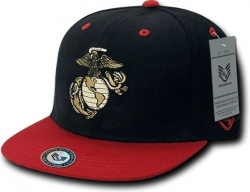 View Buying Options For The RapDom Marines 2-Tone Jumbo Back Military Mens Snapback Cap