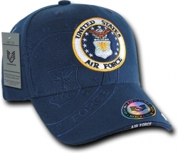 View Buying Options For The RapDom United States Air Force Round Shadow Mens Cap