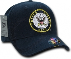 View Buying Options For The RapDom United States Navy Round Emblem Shadow Mens Cap