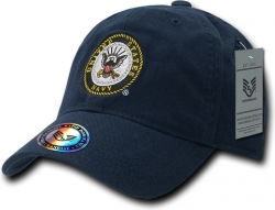 View Buying Options For The RapDom United States Navy The Lieutenant Military Mens Cap