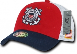 View Buying Options For The RapDom Coast Guard Deluxe Mesh Military Mens Cap