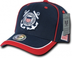 View Buying Options For The RapDom United States Coast Guard Piped Military Mens Cap