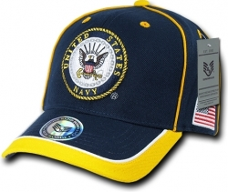 View Buying Options For The RapDom United States Navy Piped Military Mens Cap