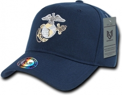 View Buying Options For The RapDom Marines Curve Bill Mens Snapback Cap