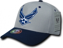 View Buying Options For The RapDom Air Force Hap Wings 2-Tone Workout Mens Snap Back Cap