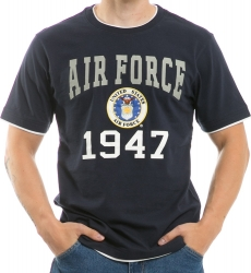 View Buying Options For The RapDom Air Force Pitch Double Layer Mens Tee