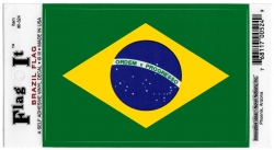 View Buying Options For The Brazil Flag Car Decal Sticker [Pre-Pack]